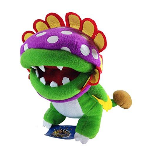"Generic Dino Piranha Super Mario Bros Plush Soft Toy Stuffed Animal Boss Flower Figure Doll 8"""