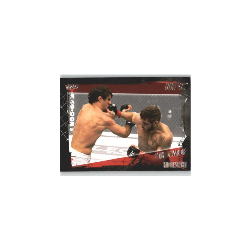 2010 Topps UFC Trading Card # 119 Tom Lawlor (Ultimate