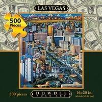 DOWDLE FOLK ART Las Vegas 1000pc Jigsaw Puzzle