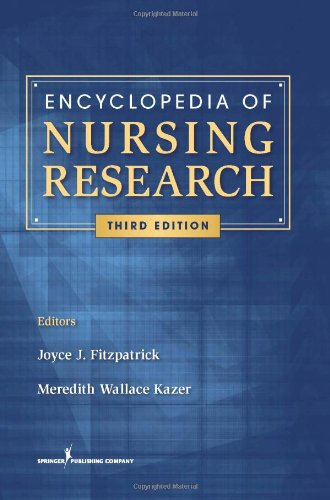 Encyclopedia Of Nursing Research, Third Edition (Fitzpatrick, Encyclopedia Of Nursing Reserach) front-398121