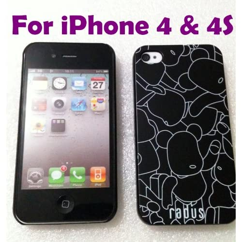 Radus iPhone Hard Case for Apple iPhone 4 / 4S