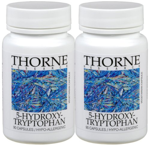 5-Htp Thorne Research 5-Hydroxytryptophan 90 Capsules (Pack Of 2)