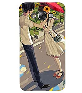 Printvisa Love Couple In A Sunflower Field Back Case Cover for Samsung Galaxy Grand 3 G720::Samsung Galaxy Grand Max G720