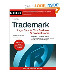Click to buy Trademark: Legal Care for Your Business & Product Name from Amazon!