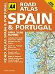 Road Atlas Spain & Portugal (AA Spain...