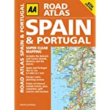 Road Atlas Spain & Portugal (AA Spain & Portugal Road Atlas)by AA Publishing
