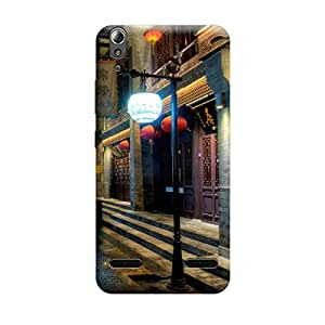 Ebby Premium Printed Mobile Back Case Cover With Full protection For Lenovo A6000 (Designer Case)