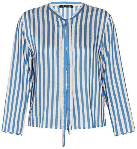Pennyblack Edison, Camicia Donna, Fantasia Azzurro, 42