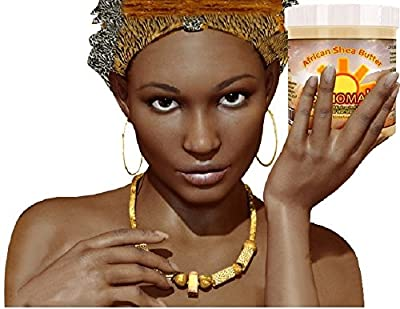 "BEST SHEA BUTTER - Raw Pure Unrefined African Shea by Sonomah. We ""LOVE OUR SHEA"" and we know you will too. Excellent Body Cream for Psoriasis, Dry Skin and Acne. Hydrates Face, Hands & Feet. Helps reduce Fine Lines, Wrinkles and Eye Puffiness. This Body"