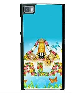 printtech Lord Tirupati Balaji Back Case Cover for Xiaomi Redmi Mi3::Xiaomi Mi 3