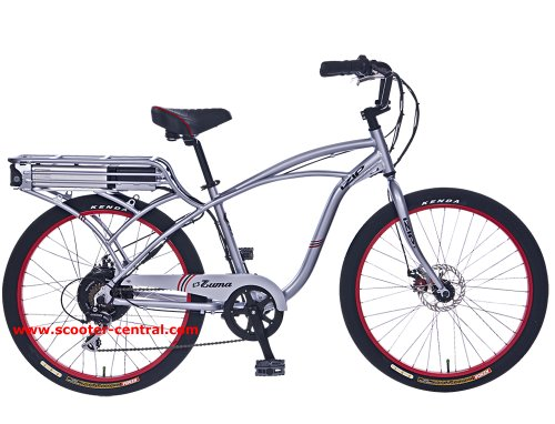 Izip E3 ZUMA 36 Volt 11AH Lithium Ion 500 Watt Electric Bicycle - Hub Motor - Currie Tech