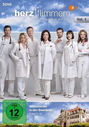 Herzflimmern - Die Klinik Am See Vol.1 (Folgen 1-15) [3 DVDs]