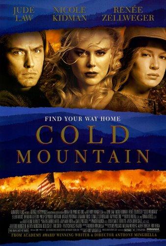 Cold Mountain Poster film, 69 x 102 cm, Jude Law Nicole Kidman Renee Zellweger Eileen Brendan Gleeson Atkins