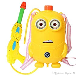 NOVICZ Kids Toy Water Gun with Backpack Water Storage Tank - Water Pistol for Children