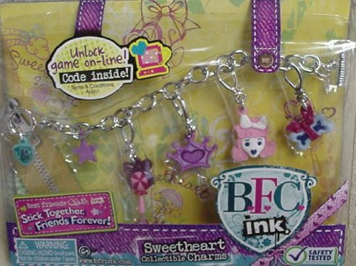 BFC Ink Sweetheart Collectible Charms