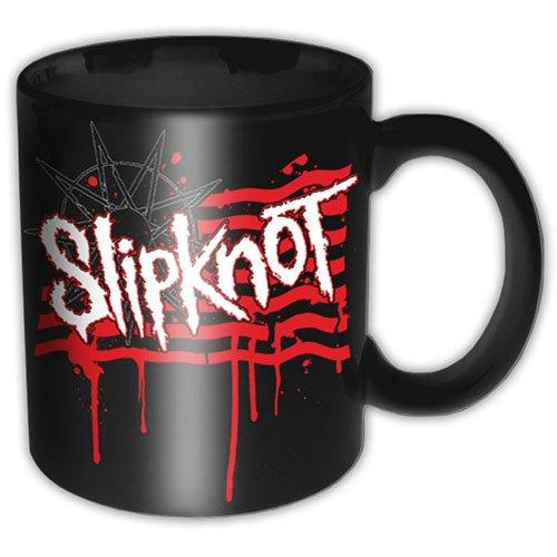 Slipknot stillicidio bandiera nera scatola regalo premio tazza caffè ufficiale