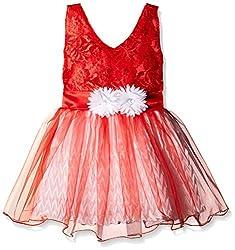 Atayant Girl Evening Dress (ATAYK_003_3:4YR_Red_M)