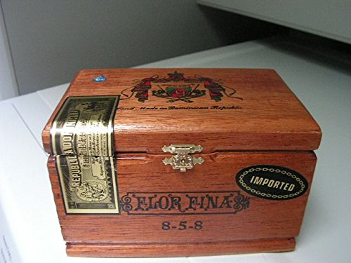 Vintage Flor Fina Cigar Box Empty Single 1