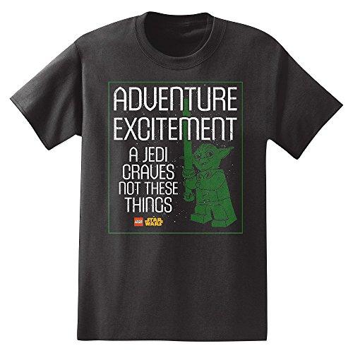 Lego-Star-Wars-Adventure-Excitement-Jedi-Yoda-Mens-T-Shirt