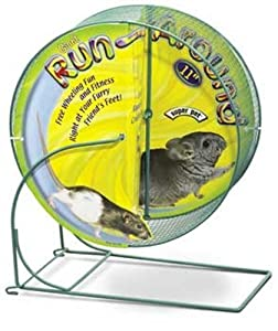 Kaytee Run-Around Giant Exercise Wheel, 11-Inch, Colors Vary
