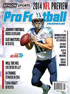 2014 Athlon Sports NFL Pro Football Magazine Preview- Tennessee Titans Cover