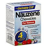 Nauzene Chewables for Nausea, Wild Cherry Flavor, Chewable Tablets, 50 ct.