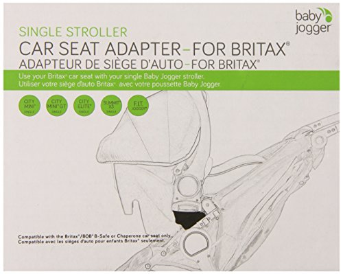 Baby Jogger Britax B-Safe Single Car Seat Adapter front-950132