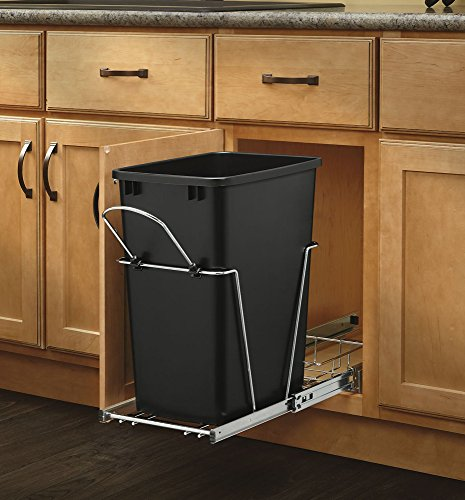 Rev-A-Shelf - RV-12KD-18C S - 35 Quart Pullout Waste Container