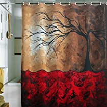 DENY Designs Madart Lost In The forest Shower Curtain 69-Inch by 72-Inch