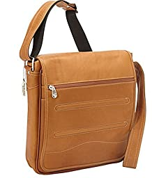 David King & Co. Deluxe Large Messenger, Tan, One Size