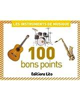 100 bons points Les instruments de musique