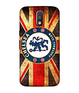 chnno Chelsea 3D Printed Back cover for Motorola Moto G4 Play -Multicolor