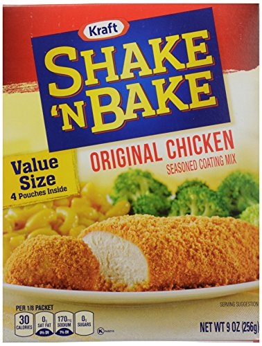 Kraft Shake and Bake Original Chicken, 9 oz (Shake And Bake Original Chicken compare prices)