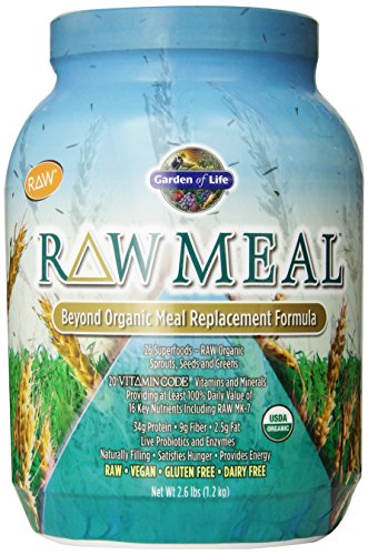 Garden Of Life Raw Organic Meal, 2.6Lbs front-20825