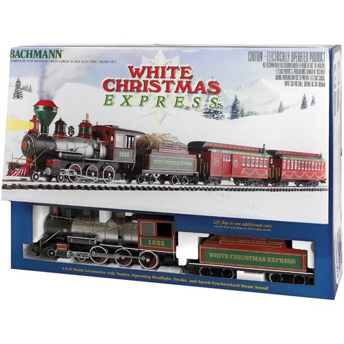 Bachmann White Christmas Express Large Scale (G S front-121548
