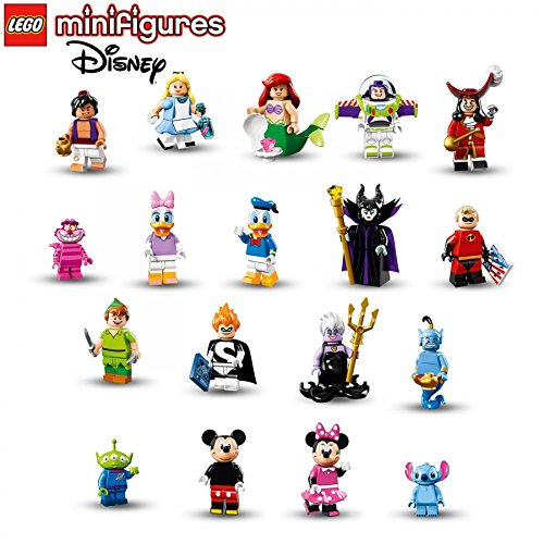 LEGO-Disney-Series-Minifigures-Complete-Set-of-18-Minifigures-71012