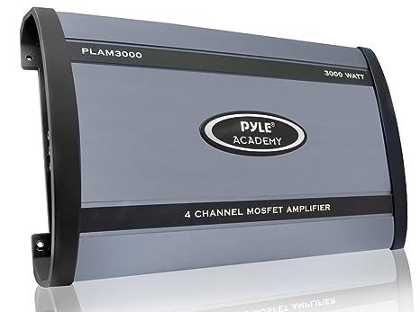 Pyle PLAM3000 Caisson de basses Noir, Bleu