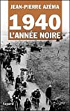 img - for 1940, l'annee noire book / textbook / text book