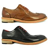 Justin Reece Drake Mens Leather Matt Shoes