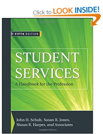 Image: Cover of Student Services: A Handbook for the Profession