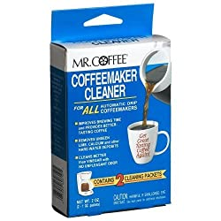 Mr. Coffee Coffeemaker Cleaner - For All Automatic Drip Units