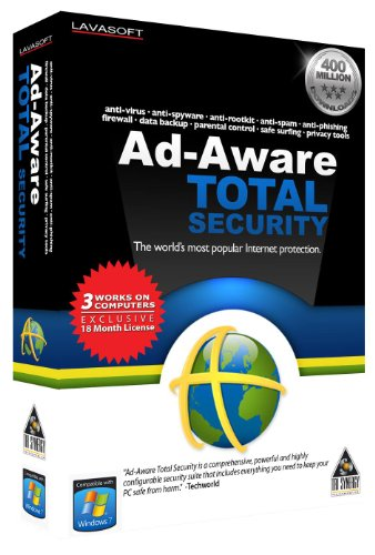 Ad-Aware Total Security 3-User/18 Months front-662953