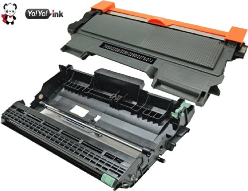 YoYoink Compatible Toner Cartridge Replacement for Brother TN 450 TN450 TN-450 DR 420 DR420 DR-420 2 Pack (1 Black Toner TN450, 1 Drum DR420) (Brother Printer Ink Tn 450 compare prices)