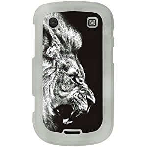 Casotec Angry Lion Design 2D Printed Hard Back Case Cover for Blackberry Bold 9900 - Clear