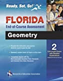 img - for Florida Geometry End-of-Course Assessment Book + Online (Florida FCAT & End-of-Course Test Prep) book / textbook / text book