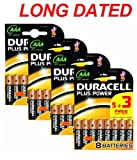 32x DURACELL Plus Power MN2400 AAA Batteries Long-Dated (Total Qty=32)