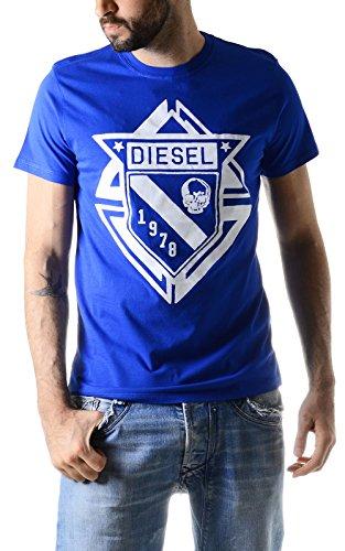 T-shirt a maniche corte T-scod Blu Diesel M Uomo