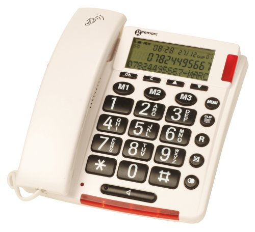 Geemarc AmpliVOICE50 Talking  Caller ID Telephone