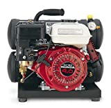 Thomas TG-400HST 4 Horsepower 4 Gallon Oiled Twin Hot Dog Gas Compressor