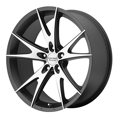 American Racing Custom Wheels AR903 Gloss Black Wheel With Machined Face (18x8